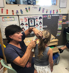 preschool hearing volunteer