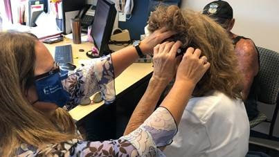 Ear Research Foundation Helps Deaf Woman Hear Her Terminally Ill Husband Again